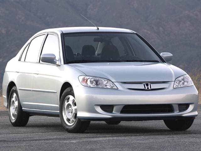 Most Popular Hybrids of 2005 - 2005 Honda Civic
