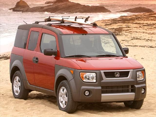 Most Fuel Efficient SUVs of 2005 - 2005 Honda Element