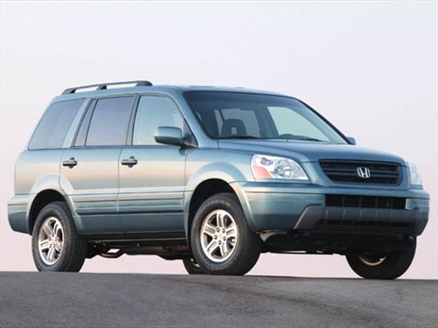 Top Consumer Rated Crossovers of 2005 - 2005 Honda Pilot