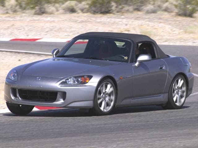 Top Consumer Rated Convertibles of 2005 - 2005 Honda S2000