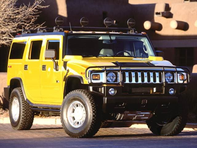 Top Consumer Rated SUVs of 2005 - 2005 HUMMER H2