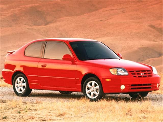 Most Fuel Efficient Hatchbacks of 2005 - 2005 Hyundai Accent