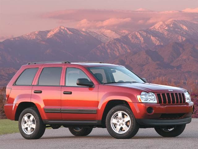 Most Popular SUVs of 2005 - 2005 Jeep Grand Cherokee