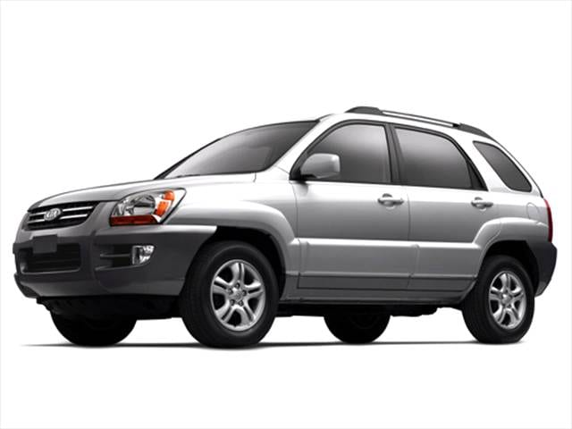 Top Consumer Rated Crossovers of 2005 - 2005 Kia Sportage