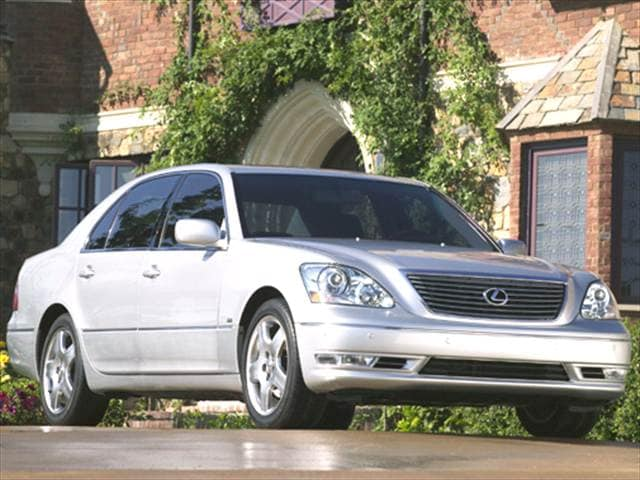 Top Consumer Rated Sedans of 2005 - 2005 Lexus LS