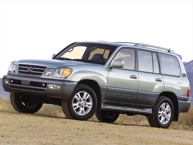 Top Consumer Rated SUVs of 2005 - 2005 Lexus LX