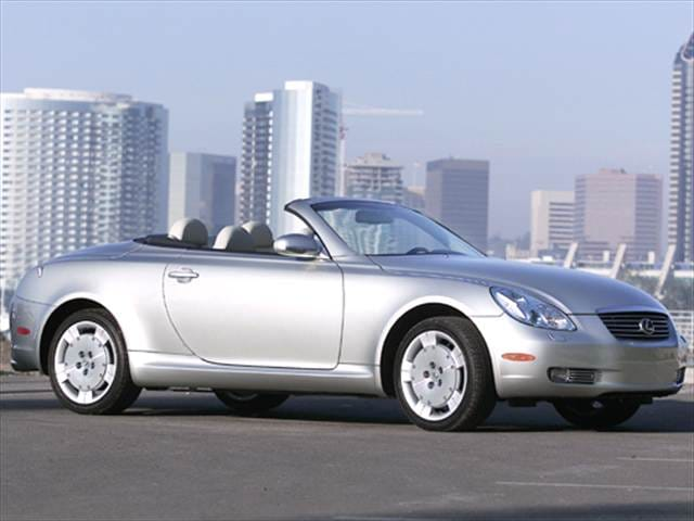 Top Consumer Rated Convertibles of 2005 - 2005 Lexus SC