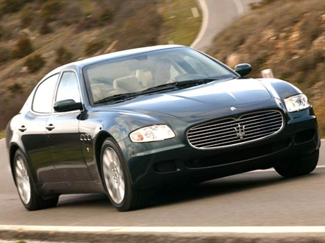Highest Horsepower Sedans of 2005
