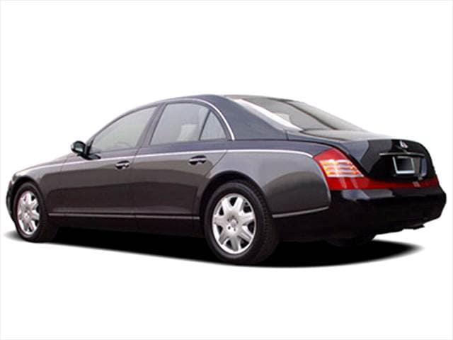 Highest Horsepower Luxury Vehicles of 2005 - 2005 Maybach 57