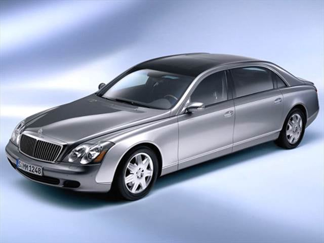 Highest Horsepower Sedans of 2005 - 2005 Maybach 62