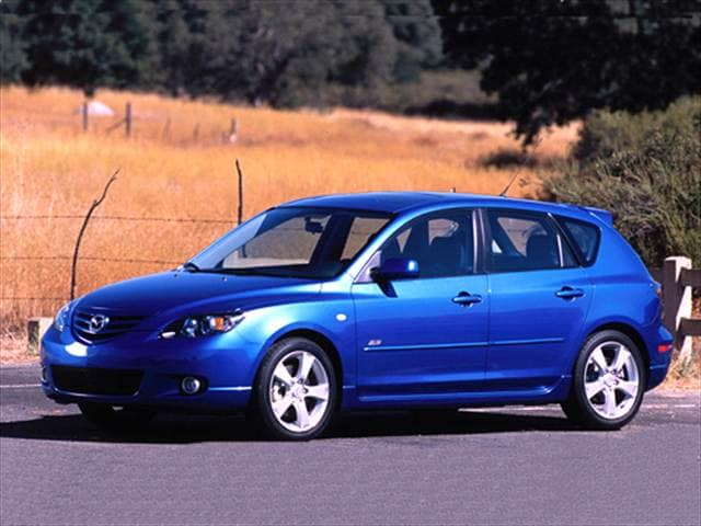 Most Popular Hatchbacks of 2005 - 2005 Mazda MAZDA3