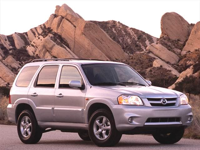Most Fuel Efficient Crossovers of 2005 - 2005 Mazda Tribute