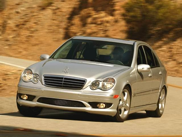 Most Popular Luxury Vehicles of 2005 - 2005 Mercedes-Benz C-Class
