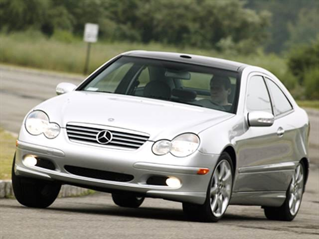 Highest Horsepower Hatchbacks of 2005 - 2005 Mercedes-Benz C-Class
