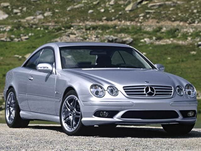 Highest Horsepower Coupes of 2005 - 2005 Mercedes-Benz CL-Class