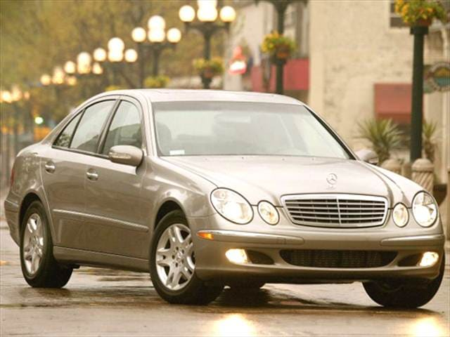 Most Fuel Efficient Sedans of 2005 - 2005 Mercedes-Benz E-Class