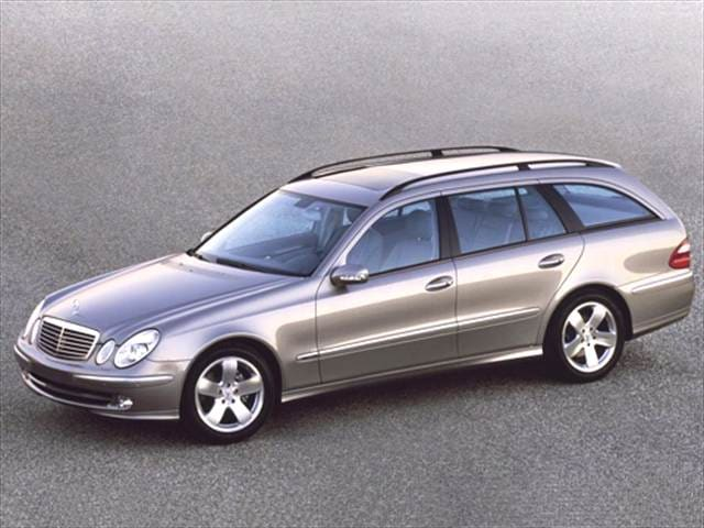Most Popular Luxury Vehicles of 2005 - 2005 Mercedes-Benz E-Class