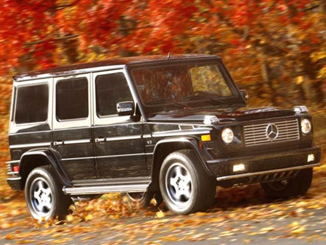 Highest Horsepower Luxury Vehicles of 2005 - 2005 Mercedes-Benz G-Class
