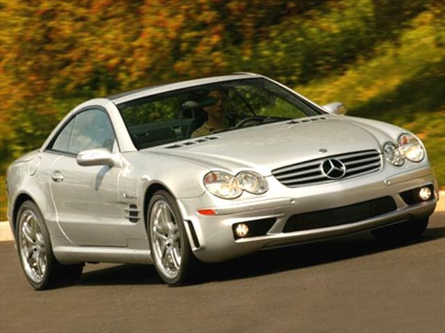 Highest Horsepower Convertibles of 2005 - 2005 Mercedes-Benz SL-Class