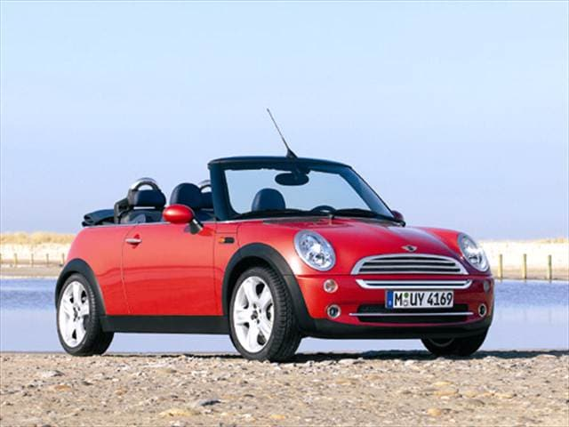 Most Fuel Efficient Convertibles of 2005 - 2005 MINI Convertible