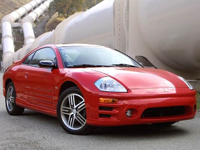 Highest Horsepower Hatchbacks of 2005 - 2005 Mitsubishi Eclipse