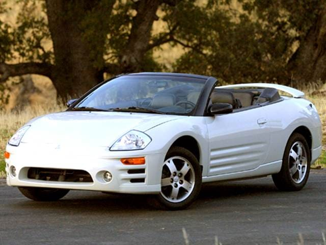 Most Fuel Efficient Convertibles of 2005 - 2005 Mitsubishi Eclipse