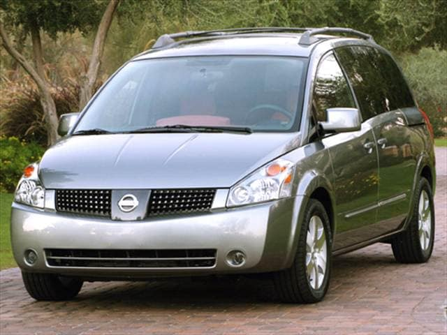 Most Fuel Efficient Vans/Minivans of 2005 - 2005 Nissan Quest
