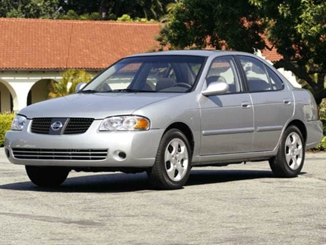 Most Fuel Efficient Sedans of 2005 - 2005 Nissan Sentra