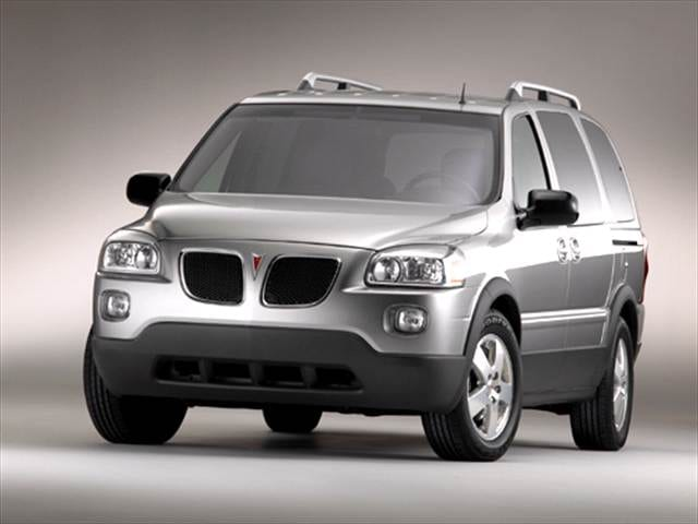 Most Popular Vans/Minivans of 2005 - 2005 Pontiac Montana SV6