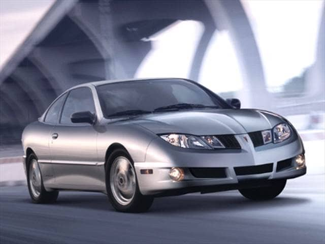 Most Fuel Efficient Coupes of 2005 - 2005 Pontiac Sunfire