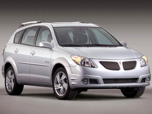 Most Fuel Efficient Hatchbacks of 2005 - 2005 Pontiac Vibe