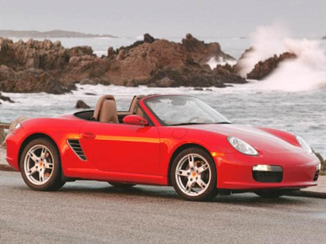 Most Fuel Efficient Convertibles of 2005 - 2005 Porsche Boxster