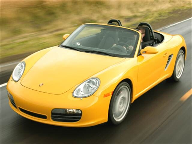 Top Consumer Rated Convertibles of 2005 - 2005 Porsche Boxster