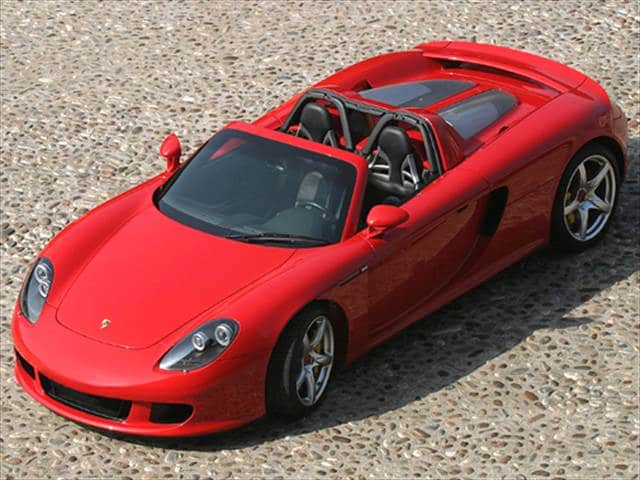 Highest Horsepower Convertibles of 2005 - 2005 Porsche Carrera GT