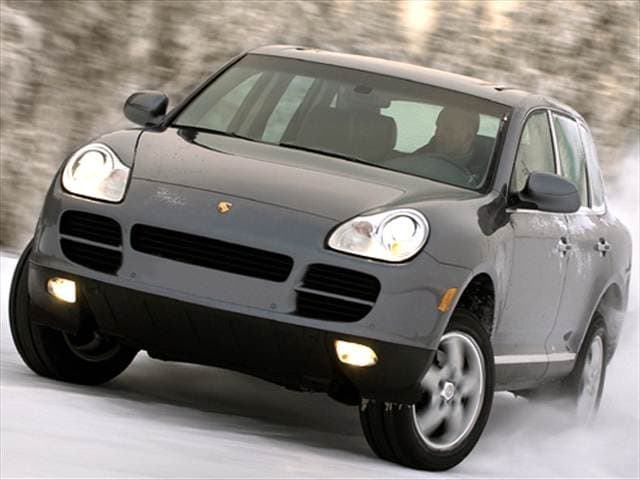 Top Consumer Rated Crossovers of 2005 - 2005 Porsche Cayenne