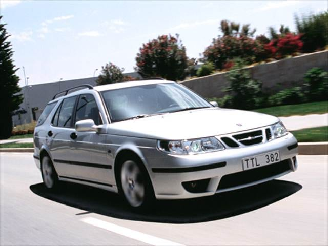 Highest Horsepower Wagons of 2005 - 2005 Saab 9-5