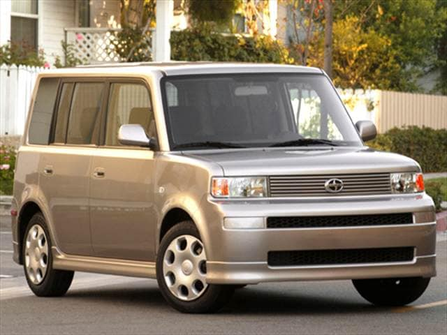Most Fuel Efficient Hatchbacks of 2005 - 2005 Scion xB