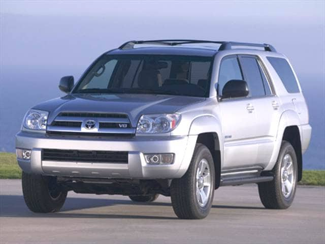 Top Consumer Rated SUVs of 2005 - 2005 Toyota 4Runner