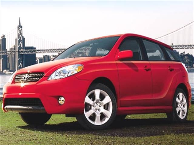 Most Fuel Efficient Hatchbacks of 2005 - 2005 Toyota Matrix