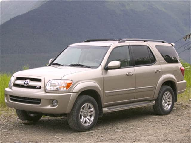 Top Consumer Rated SUVs of 2005 - 2005 Toyota Sequoia