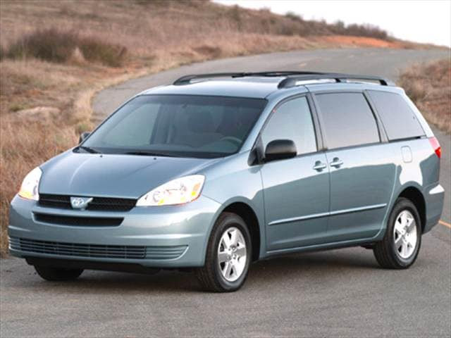 Most Fuel Efficient Vans/Minivans of 2005 - 2005 Toyota Sienna