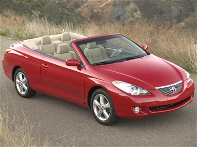 Most Fuel Efficient Convertibles of 2005 - 2005 Toyota Solara