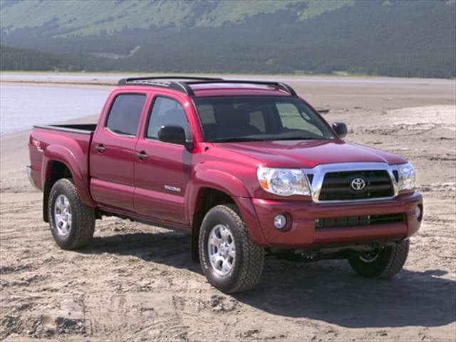 Top Consumer Rated Trucks of 2005 - 2005 Toyota Tacoma Double Cab