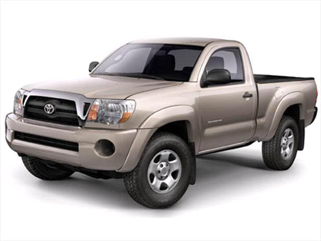 Top Consumer Rated Trucks of 2005 - 2005 Toyota Tacoma Regular Cab