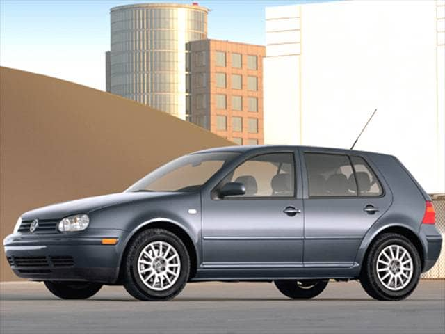 Most Fuel Efficient Hatchbacks of 2005 - 2005 Volkswagen Golf