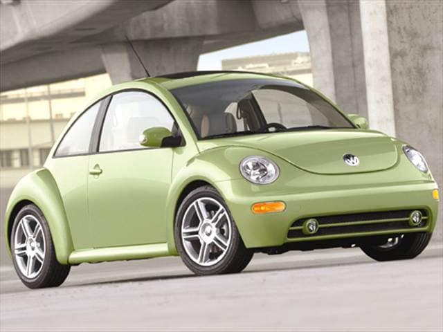Most Popular Hatchbacks of 2005 - 2005 Volkswagen New Beetle