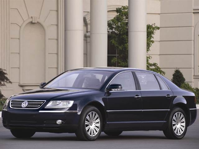 Top Consumer Rated Sedans of 2005 - 2005 Volkswagen Phaeton