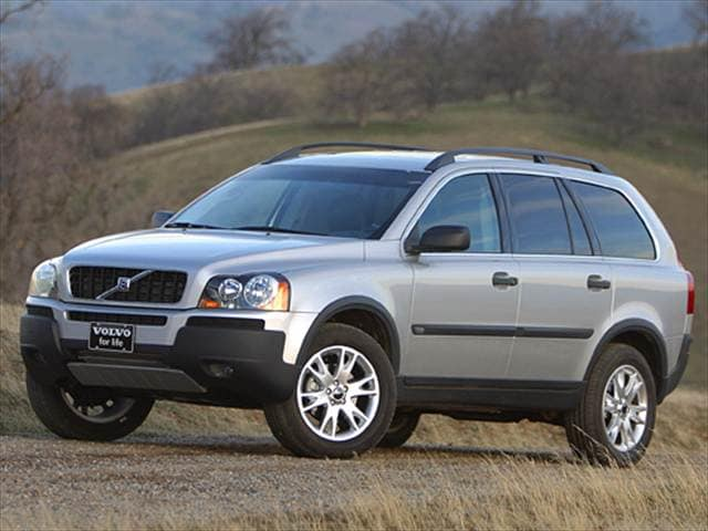 Highest Horsepower Crossovers of 2005 - 2005 Volvo XC90