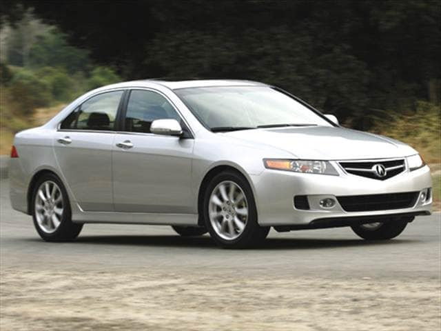 Top Consumer Rated Sedans of 2006 - 2006 Acura TSX
