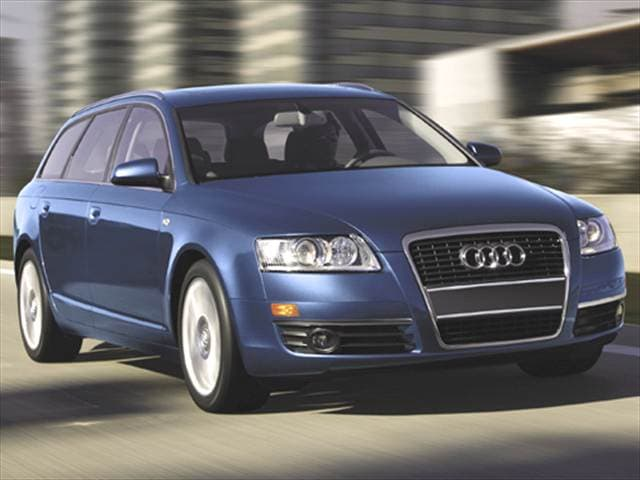 Top Consumer Rated Wagons of 2006 - 2006 Audi A6